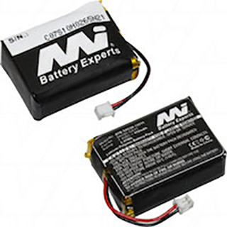 Battery pack suitable for Sportdog SD-1225 Transmitter