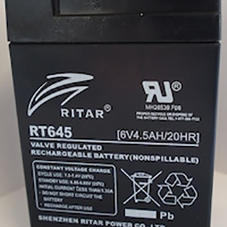 Ritar 6Volt 4.5Ah Sealed Lead Acid