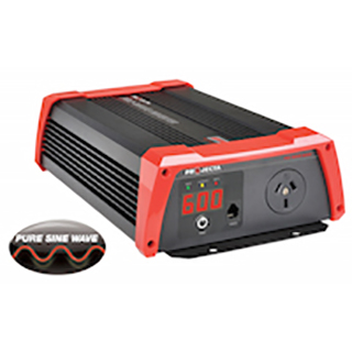 Projecta Pro-Wave 12V 600W Pure Sine Wave Inverter