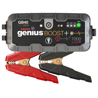 Noco Boost Plus GB40 1000A 12V Ultra Safe Lithium Jump Starter.