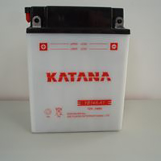 Katana YB14A-A1 Conventional Motorcycle Battery