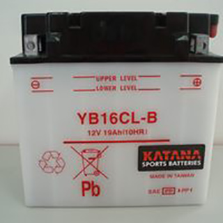 Katana YB16CL-B Conventional Motorcycle Battery