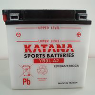 Katana YB9L-A2 Conventional Motorcycle Battery