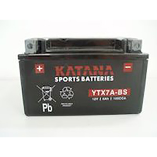 Katana YTX7A-BS Maintenance-free VRLA Battery