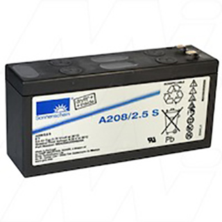 Replacement Battery A208/2.5S