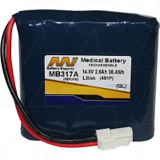 Medical Battery suitable for use with Eden M3A Vital Signs Monitor