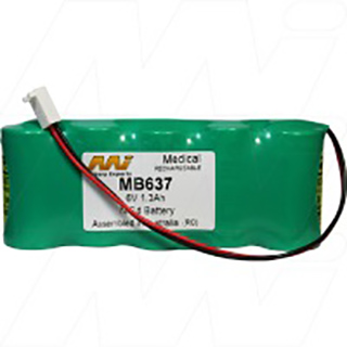 Medical Battery suitable for Nonin Medical 8600 / 8604D Pulse Oximeter