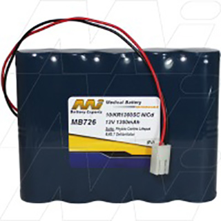Medical Battery suitable for Physio Control Life Pak 6,6S, 7 Defibrillator