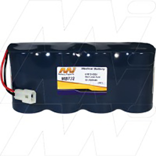 Medical Battery suitable for Physio Control Life Pak 9,9P Monitor, Defibrillator