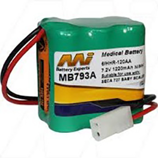 Medical Battery suitable for use with Seca 727 Baby Scale
