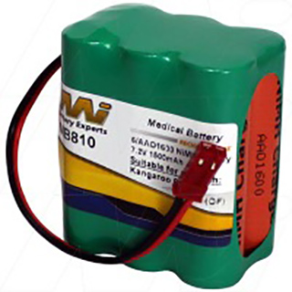 Medical Battery suitable for Sherwood Medical Kangaroo 624.