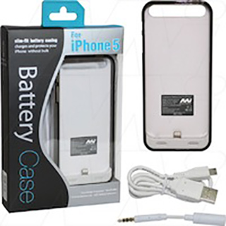 Ultra-thin Ultra-light external battery for iPhone 5, iPhone 5S. Product is MFi certified