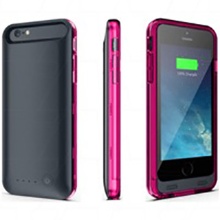 Ultra-thin Ultra-light external 4000mAh ruggedised extended battery case for iPhone 6 Plus, iPhone 6S Plus