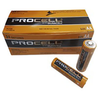 Procell AA 1.5V Industrial Batteries (Box of 24)