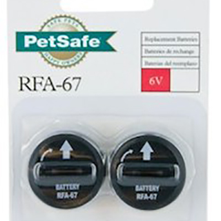 Dog Collar Bark Control Battery (RFA-67)