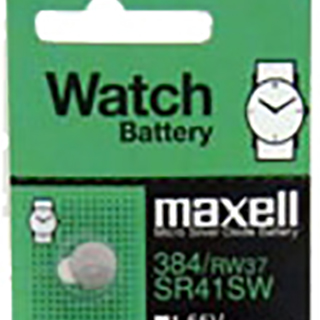 Maxell SR41SW Coin Cell Battery