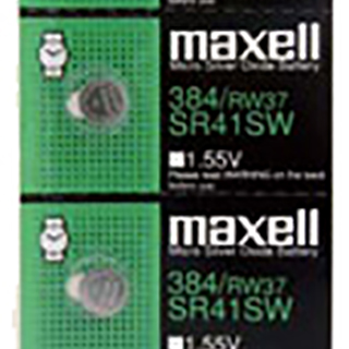 Maxell SR41SW Coin Cell Battery (Pack of 5)