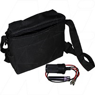 BCB127 Master SLA Battery Carry Bag with Cig Lighter Socket Connector