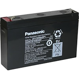 UP-VW0645P1 (UP-RW0645P1) Panasonic Sealed Lead Acid Battery for Standby, UPS