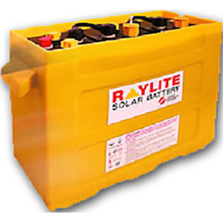 Raylite 4 x MIL25S 6V 900Ah M-Solar Cell 24V Battery Bank