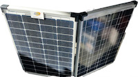 Solar King Portable Folding Monocrystalline Solar Panel: 120W