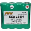 Survey equipment battery SEB-LS501