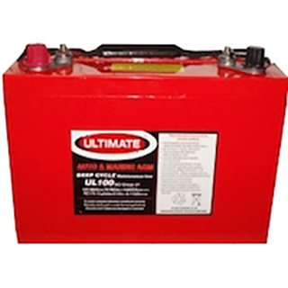 Ultimate UL120 Deep Cycle Battery (AGM)