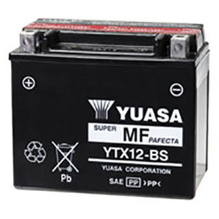 Yuasa YTX12-BS Maintenance-free Battery