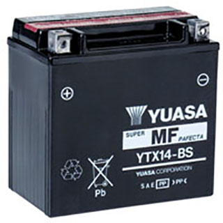 Yuasa YTX14-BS Maintenance-free Battery