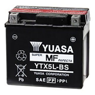 Yuasa YTX5L-BS Maintenance-free VRLA Battery