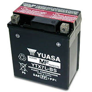 Yuasa YTX7L-BS Maintenance-free VRLA Battery