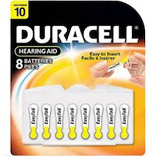 10HPX Duracell Hearing Aid Battery