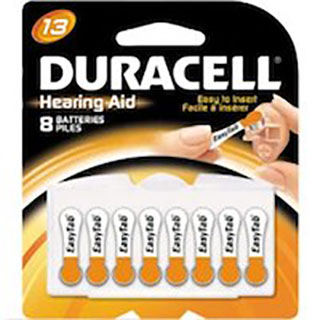 13HPX Duracell Hearing Aid Battery