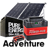 The Adventure Off-grid Battery Combo
