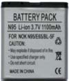 Nokia N96 Battery (BL-5F)
