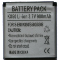 Sony Ericsson K850i Replacement Battery (BST-38)
